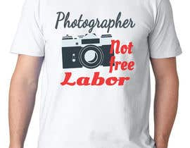 #36 for Design a Logo T-shirt for Photographers Movement by oobqoo