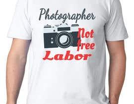oobqoo tarafından Design a Logo T-shirt for Photographers Movement için no 36