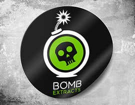 #293 for Bomb Extracts Logo Creative by joshilano