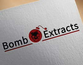 #232 for Bomb Extracts Logo Creative by tapas10