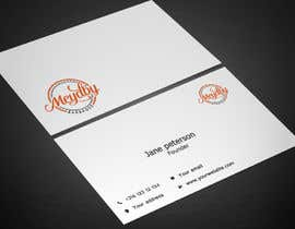 Nro 33 kilpailuun Design Meydby Business cards käyttäjältä Warna86
