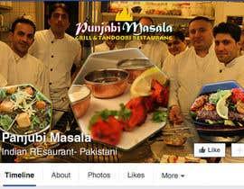 Nro 5 kilpailuun Design a Facebook cover photo for an indian restaurant käyttäjältä ChowdhuryShaheb