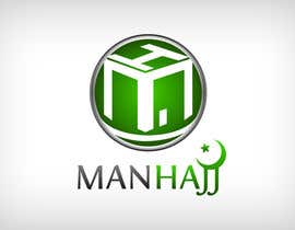 #352 for MANHAJJ Logo Design Competition by naistudio