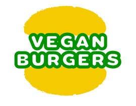 Nro 7 kilpailuun design a logo veganburgers käyttäjältä mairakremer
