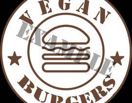 Nro 38 kilpailuun design a logo veganburgers käyttäjältä Ivanisov