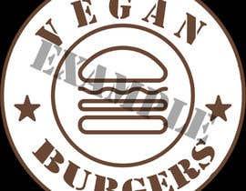 #38 for design a logo veganburgers by Ivanisov