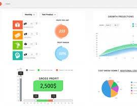 heshamsqrat2013 tarafından Dashboard Design For A Web App için no 13