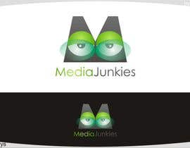 nº 130 pour Logo Design for Media Junkies par innovys