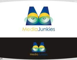 #133 para Logo Design for Media Junkies por innovys