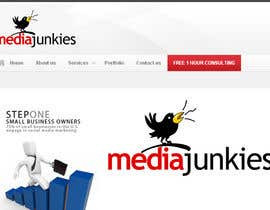 #126 para Logo Design for Media Junkies por smarttaste