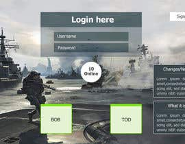 Nro 6 kilpailuun Design MMORPG landing page käyttäjältä mdmonirhosencit