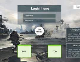 mdmonirhosencit tarafından Design MMORPG landing page için no 6