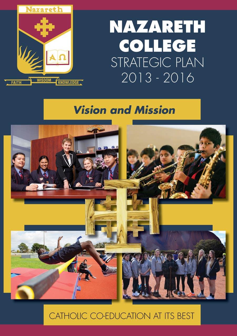 Konkurrenceindlæg #3 for Design a front cover for a Strategic Plan (A4)