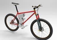 Graphic Design Contest Entry #5 for Budget E-Cycle Exterior Body design