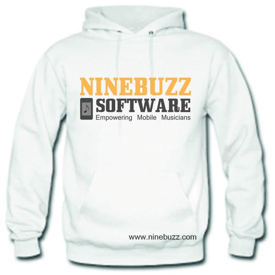 Kilpailutyö #58 kilpailussa Hoodie design for software company
