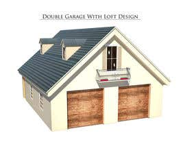 #17 para Design a double garage with loft por mutluoral