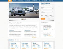 #2 for Website design for Airport Transfer af iNoesis