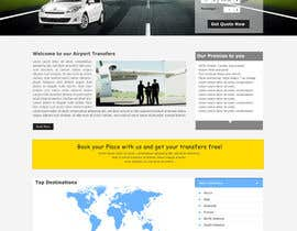 nº 11 pour Website design for Airport Transfer par mdmonirhosencit