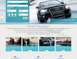 nº 16 pour Website design for Airport Transfer par sharmaadeepak