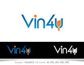 Nro 1 kilpailuun Vin4u blog logo käyttäjältä putih2013