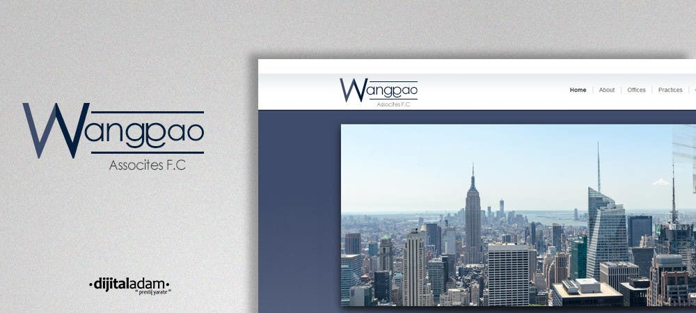 Proposition n°3 du concours Design a Logo for Wang Gao & Associates, PC.