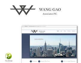 #16 for Design a Logo for Wang Gao & Associates, PC. by yusen89