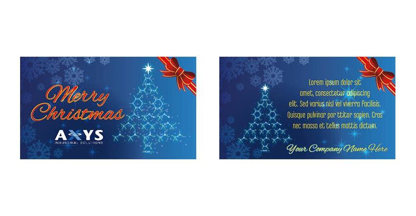 Kilpailutyö #4 kilpailussa Design Business Christmas cards