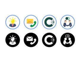 #32 for Design 4 Icons for our Contact us page by NikWB