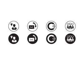 #37 for Design 4 Icons for our Contact us page by Rendra5