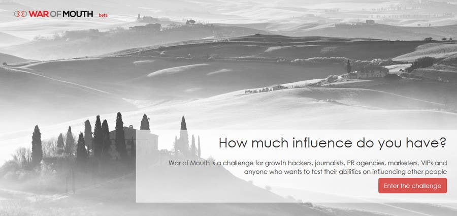 #13 for WOM - Prove your growth hacking skills (1st place) by codeunderground