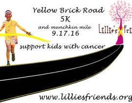 Nro 1 kilpailuun Yellow Brick Road 5K Banner/Billboard käyttäjältä marydavydova