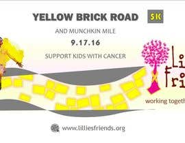 Nro 28 kilpailuun Yellow Brick Road 5K Banner/Billboard käyttäjältä wendermezini