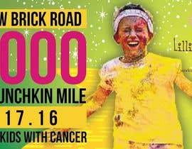 Nro 5 kilpailuun Yellow Brick Road 5K Banner/Billboard käyttäjältä kraphic