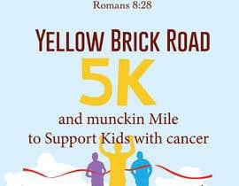 Nro 1 kilpailuun Yellow Brick Road 5K Race Brochure käyttäjältä lydias90