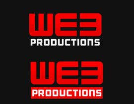 #21 cho Design a Logo for WE3 Productions bởi LogoFreelancers