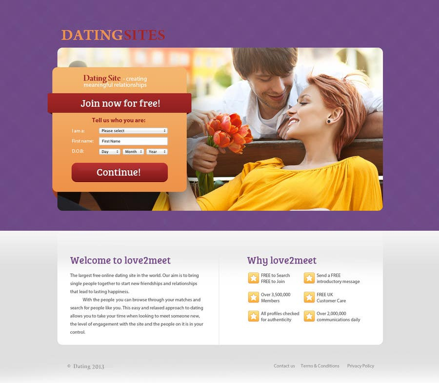 #4 for Design a simple but professional looking Landing Page by Bigbeautiful