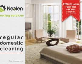 Nro 20 kilpailuun Design a Flyer for our Domestic Cleaning Promotion käyttäjältä Splunge