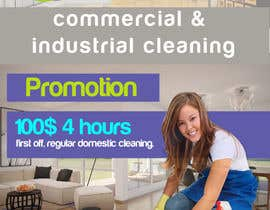 Nro 3 kilpailuun Design a Flyer for our Domestic Cleaning Promotion käyttäjältä sah57062f0e2f26f