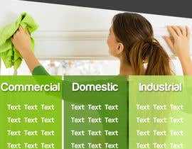 Nro 6 kilpailuun Design a Flyer for our Domestic Cleaning Promotion käyttäjältä maram1