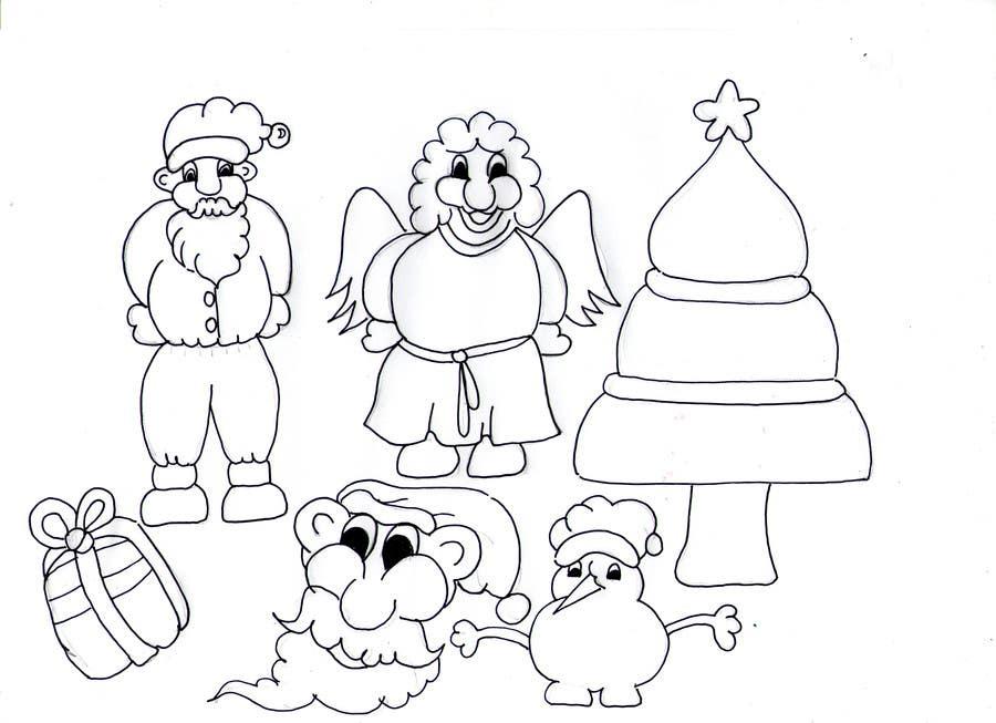 Bài tham dự cuộc thi #31 cho Cute Christmas Drawings