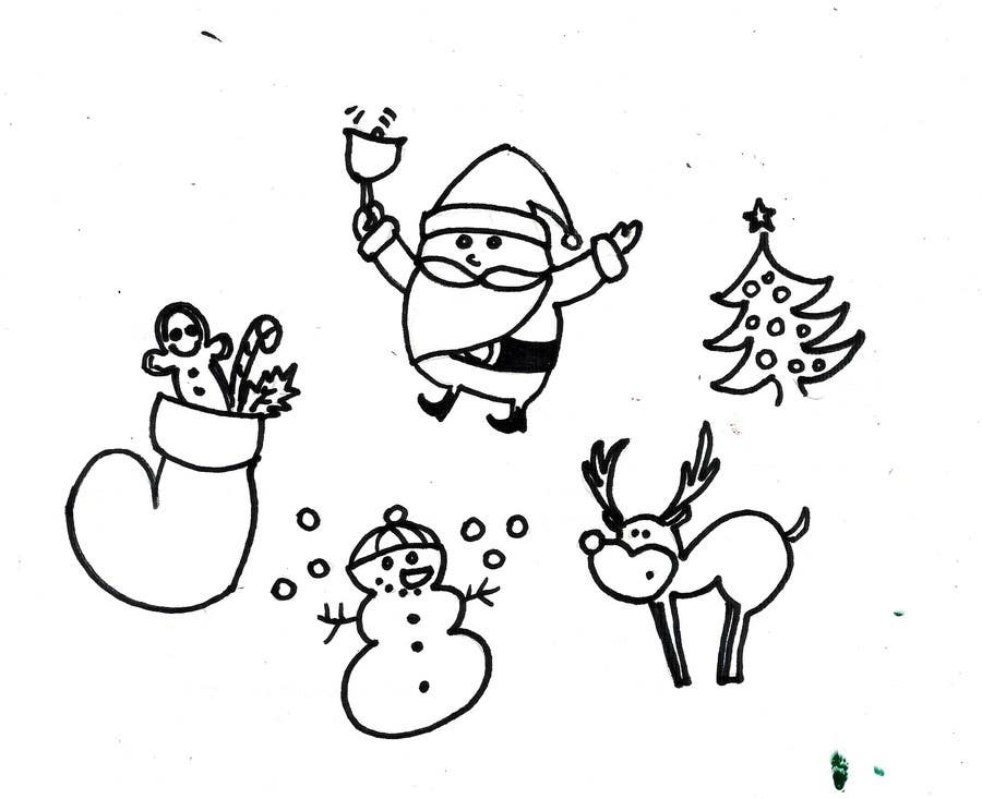 Proposition n°37 du concours Cute Christmas Drawings