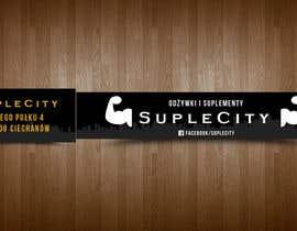 dsquarestudio tarafından Design simple shop banner için no 15
