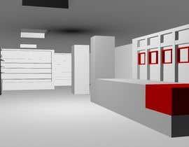 Nro 2 kilpailuun 3D render for small stationery store layout käyttäjältä aryashinde359