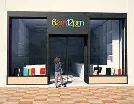 Nro 28 kilpailuun 3D render for small stationery store layout käyttäjältä issevin