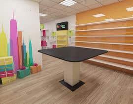 Nro 21 kilpailuun 3D render for small stationery store layout käyttäjältä salamonzsolt