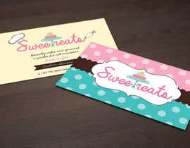 #19 para Design some Business Cards for Sweet treats by ortal por DanaDouqa