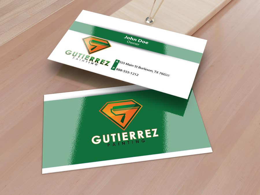 Contest Entry 21 For Design Some Business Cards Painting Company