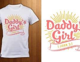 ShadaoPartners tarafından Design a T-Shirt - Daddy's Girl için no 7