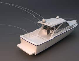 #24 for Sports Fishing Boat Design by CamAnhh