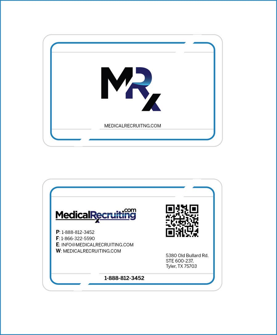 Konkurrenceindlæg #55 for Design some high end Business Cards for Recruiting Company.